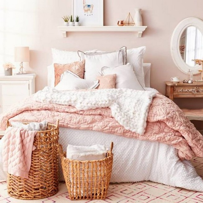 15 Cute Pink Bedroom Designs Ideas That Are Dream Of Every Girl 09