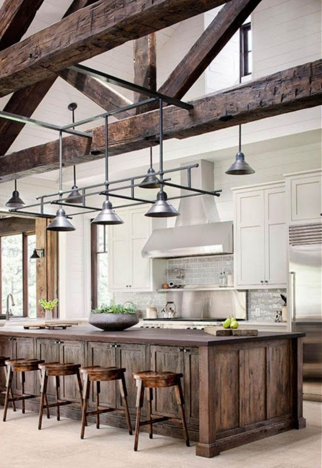 18 Awesome Modern Farmhouse Kitchen Cabinets Ideas 23