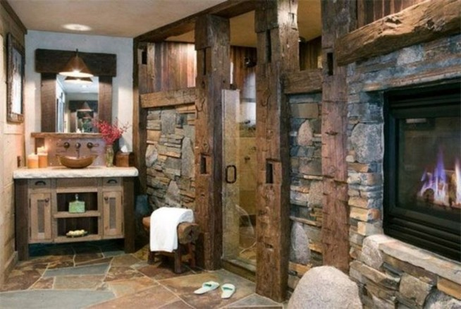 18 Stylish Bathroom Designs Ideas With Addition Of Stone For Elegant Look 07