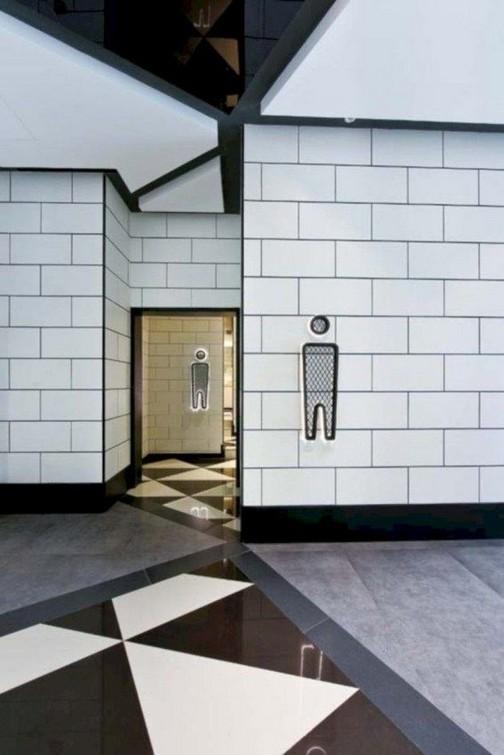 19 Captivating Public Bathroom Design Ideas 18