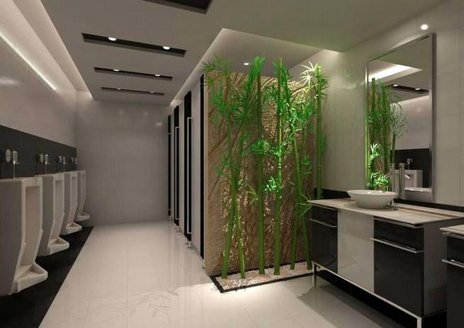19 Captivating Public Bathroom Design Ideas 20