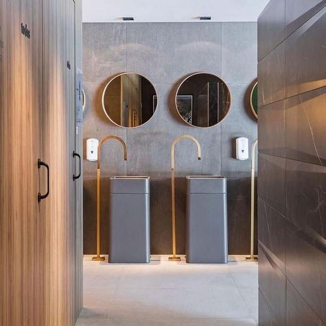 19 Captivating Public Bathroom Design Ideas 28