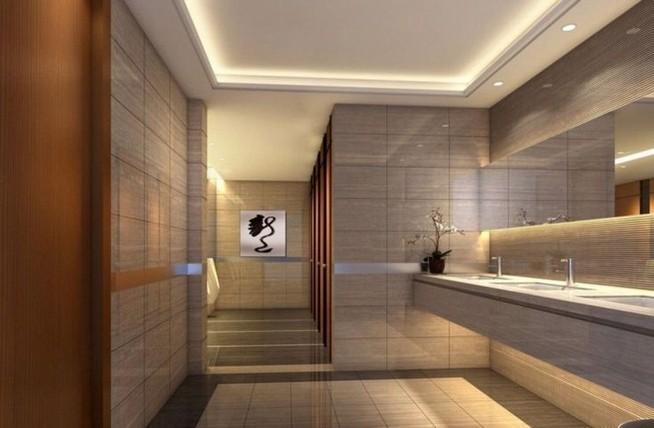 19 Captivating Public Bathroom Design Ideas 29