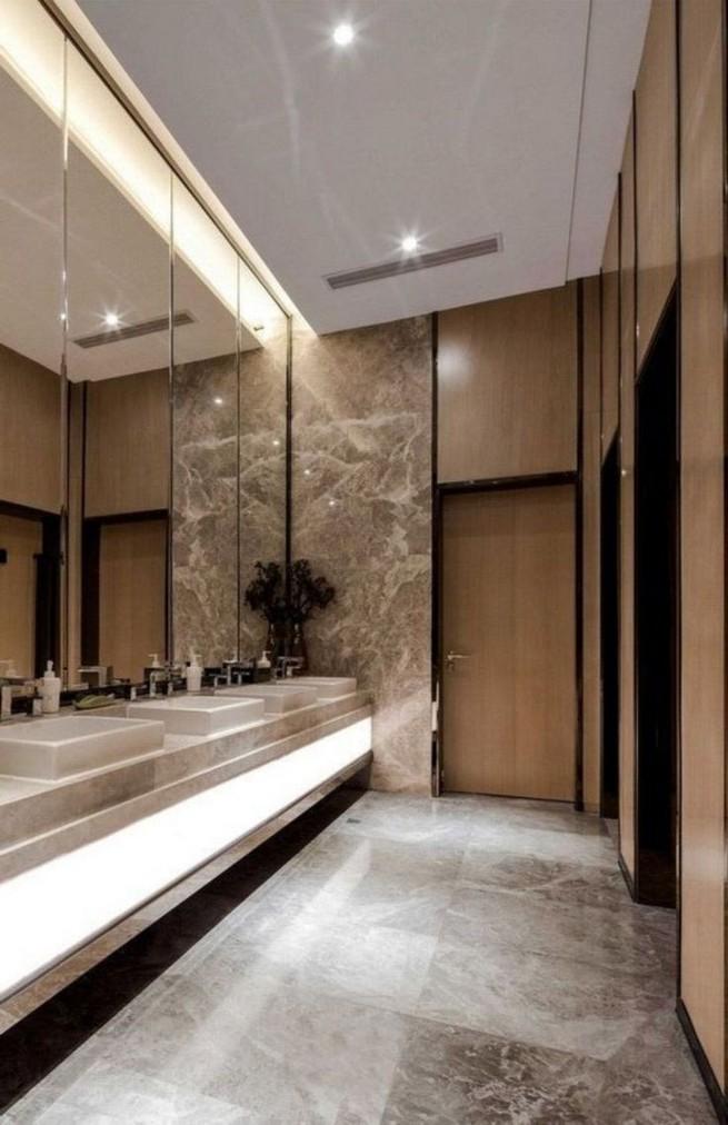 19 Captivating Public Bathroom Design Ideas 31
