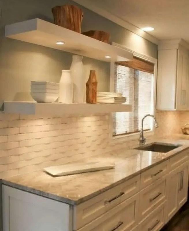 Working On Simple Kitchen Ideas For Simple Design: 19 Easy Kitchen Backsplash Ideas