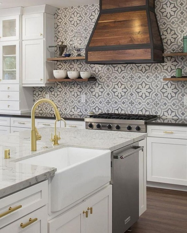 19 Easy Kitchen Backsplash Ideas 37