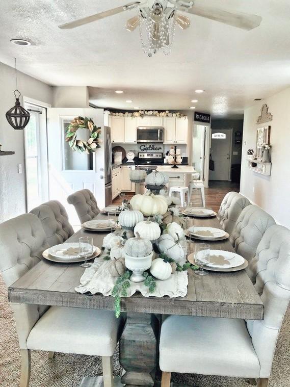 19 Fancy Farmhouse Dining Room Design Ideas 15