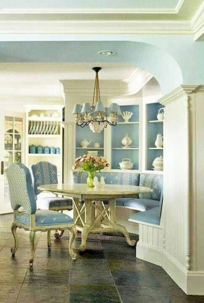 19 Fancy Farmhouse Dining Room Design Ideas 51