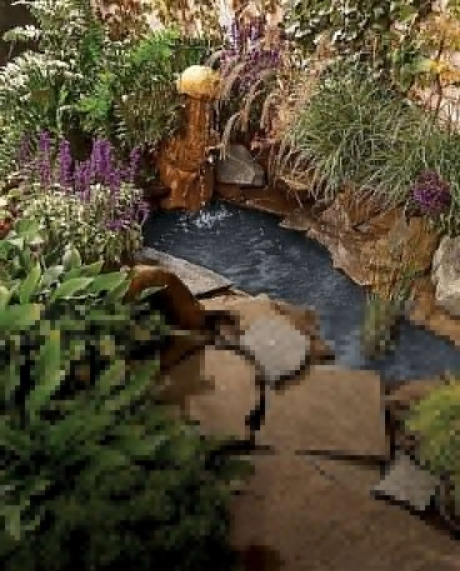 19 Gorgeous Backyard Ponds Water Garden Landscaping Ideas 47