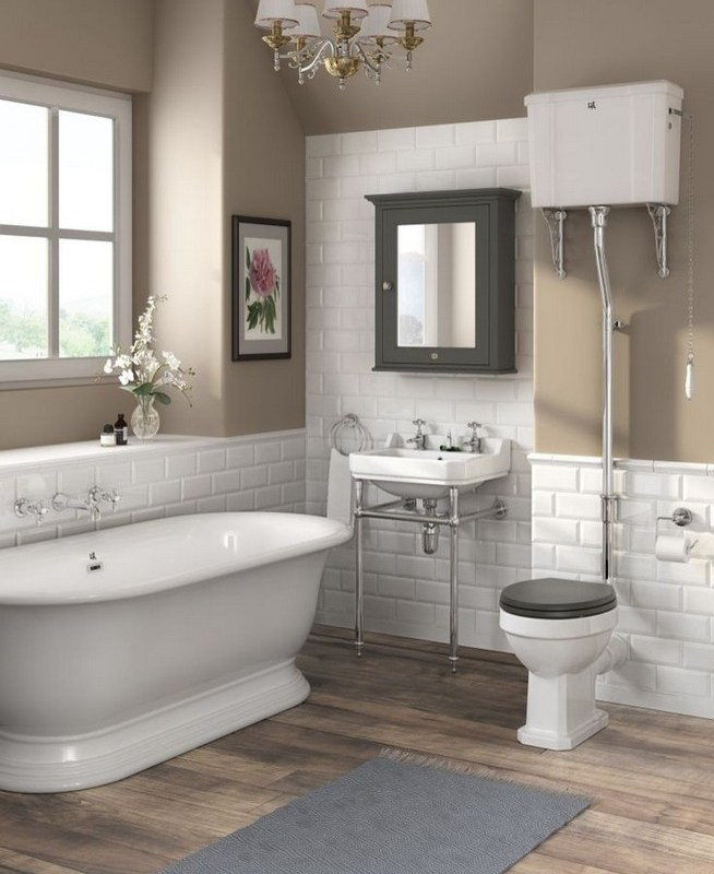 21 Outstanding Traditional Bathroom Ideas To Not Miss 55
