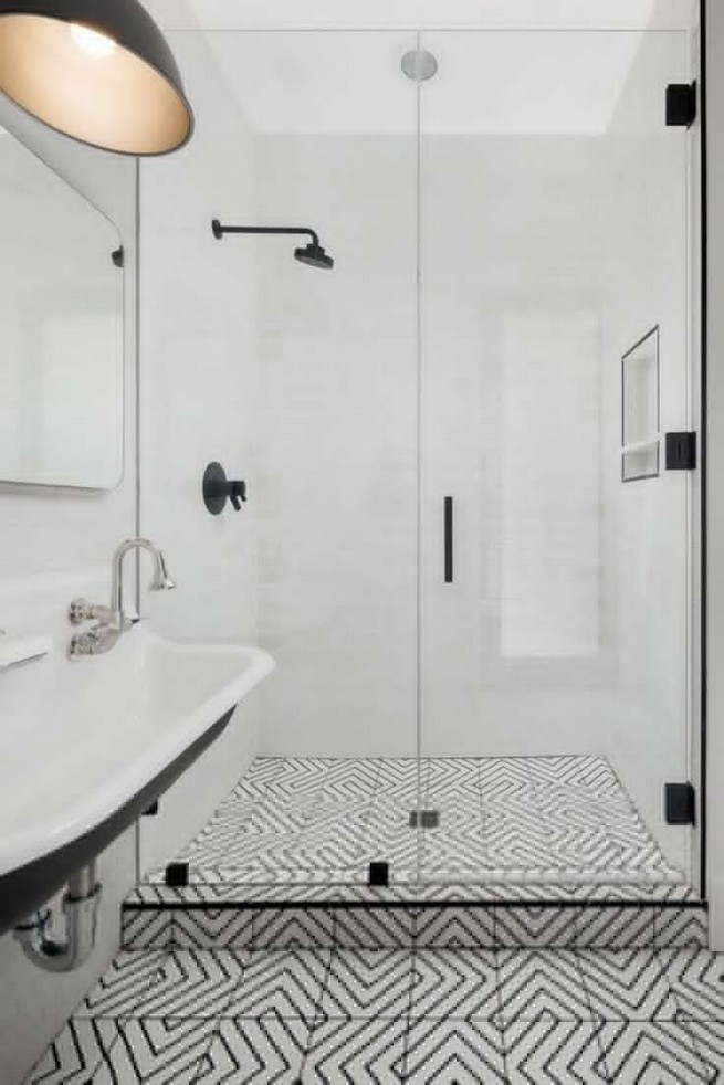 23 Stunning Black Shower Tiles Design Ideas For Bathroom 25