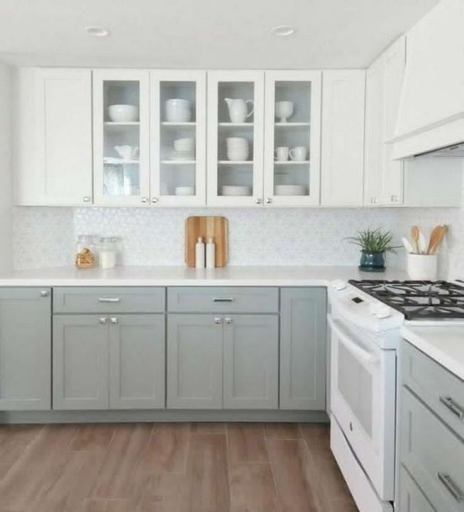 13 Elegant Grey Kitchen Backsplash Ideas Inspiration 17
