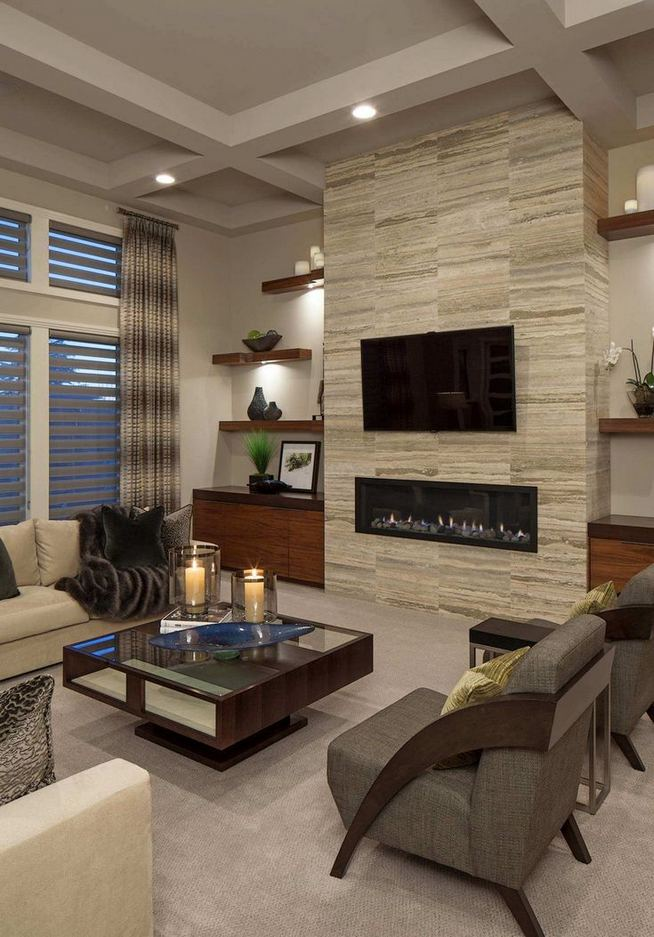 13 Impressive Living Room Ideas With Fireplace And Tv 13