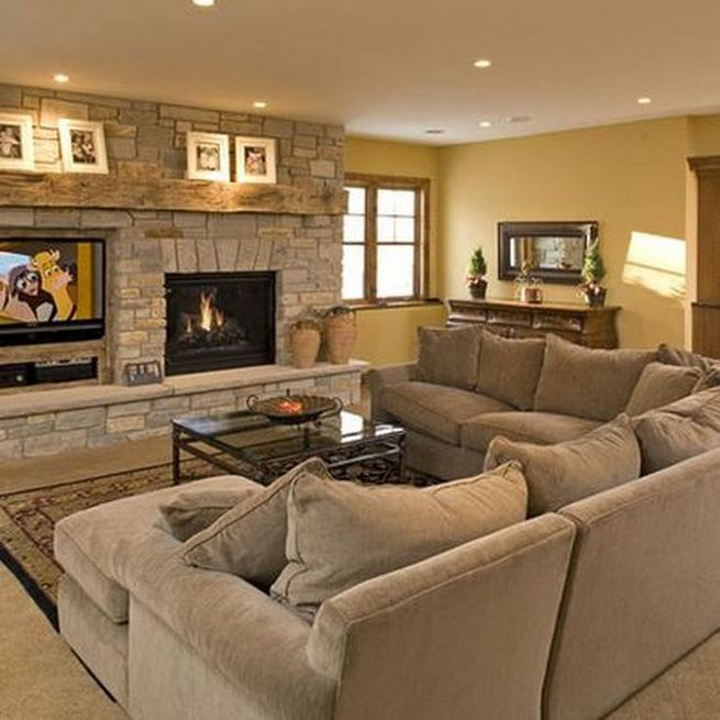 13 Impressive Living Room Ideas With Fireplace And Tv 18