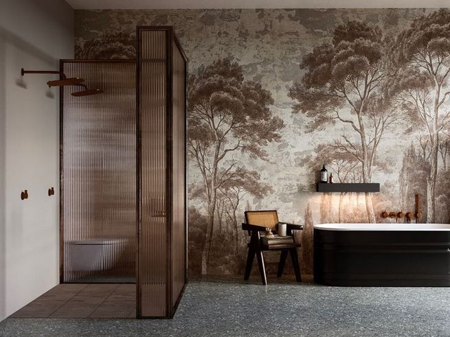 14 Relaxing Luxury Master Bathroom Design Ideas With Rustic Style 11