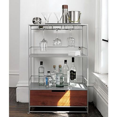 15 Affordable Masculine Bar Cart Design Ideas 11 1