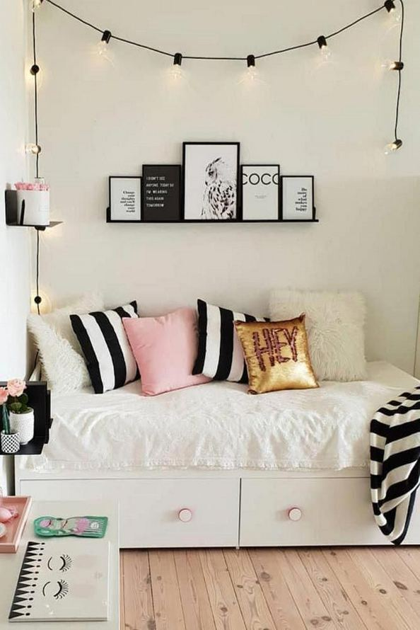 15 Cute Small Teen Bedroom Ideas 17