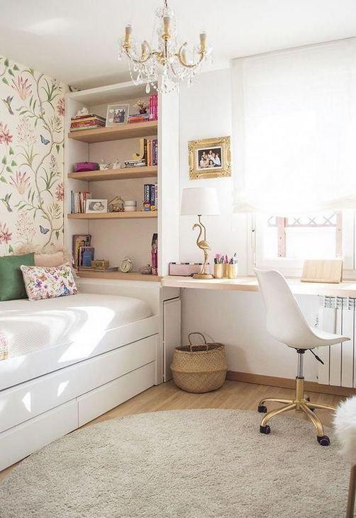 15 Cute Small Teen Bedroom Ideas 41