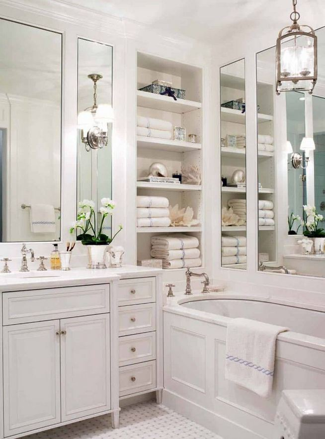 16 Fabulous Traditional Small Bathroom Decor Ideas 43