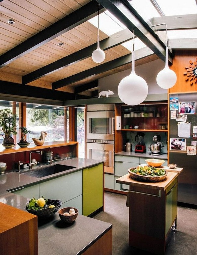 16 Modern Mid Century Kitchen Designs Ideas 16