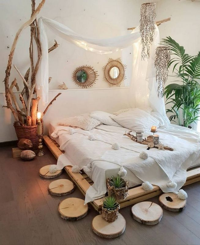 17 Inspiring Bohemian Style Bedroom Decor Design Ideas 03