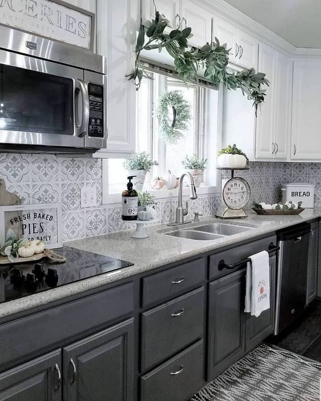 18 Easy Kitchen Cabinet Painting Ideas 26