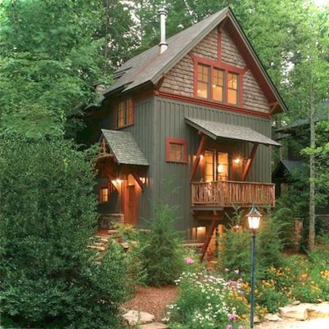 21 Gorgeous Cottage House Exterior Design Ideas 03