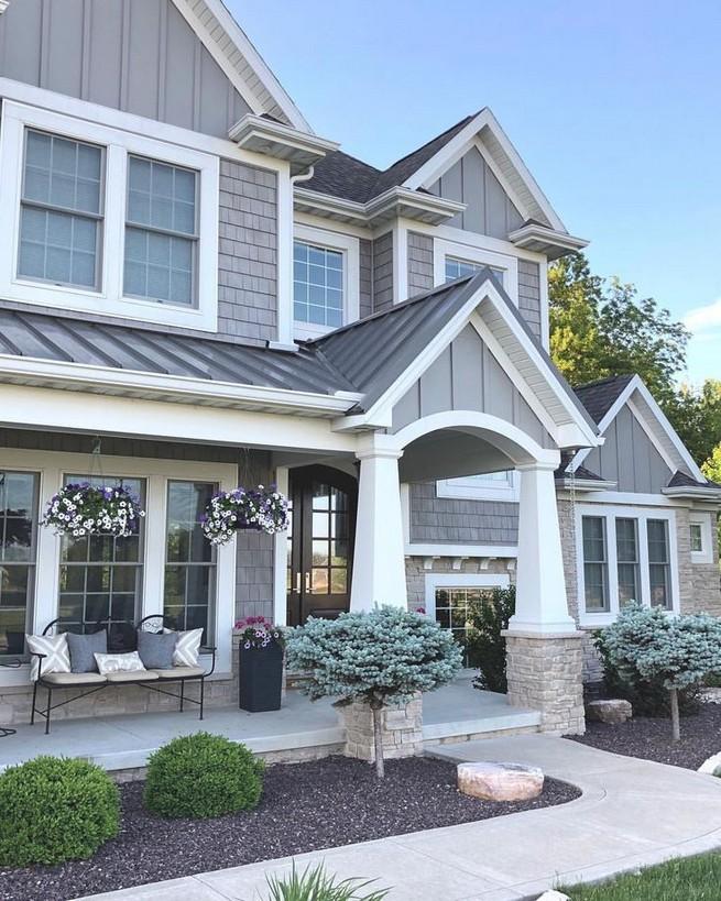 21 Gorgeous Cottage House Exterior Design Ideas 05