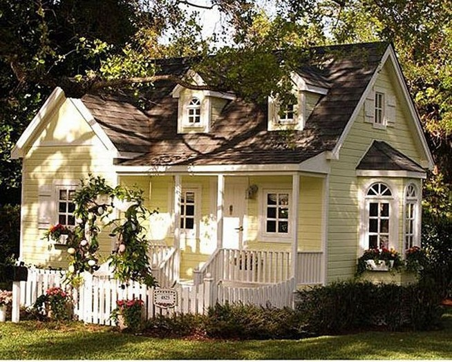 21 Gorgeous Cottage House Exterior Design Ideas 12