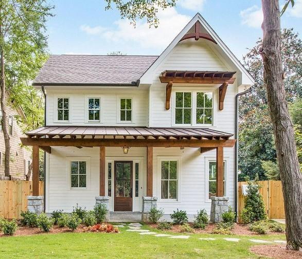21 Gorgeous Cottage House Exterior Design Ideas 31