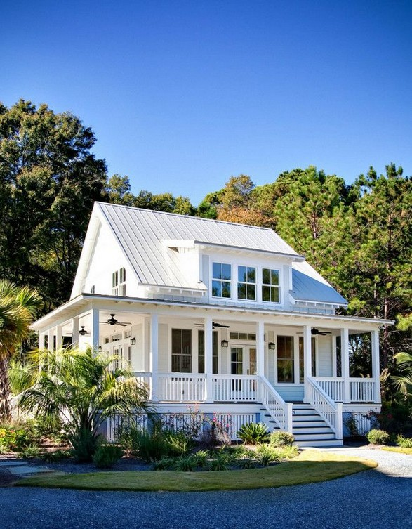 21 Gorgeous Cottage House Exterior Design Ideas 35