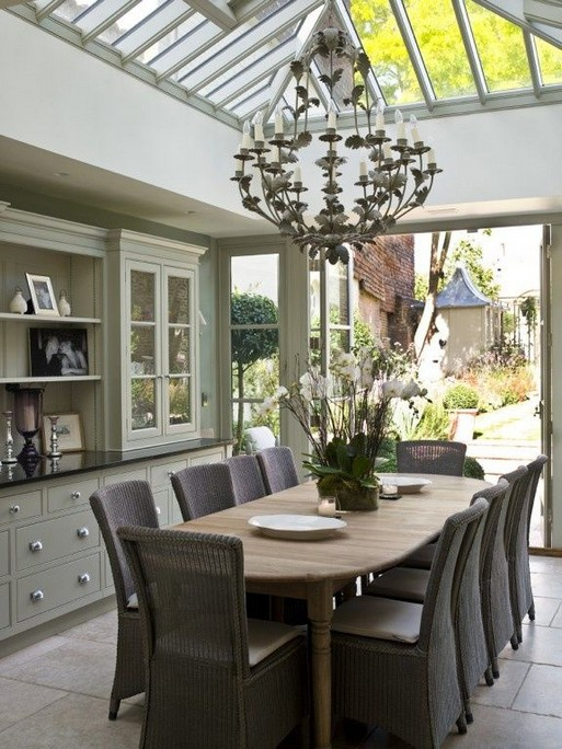 22 Easy Green Dining Room Design Ideas 24