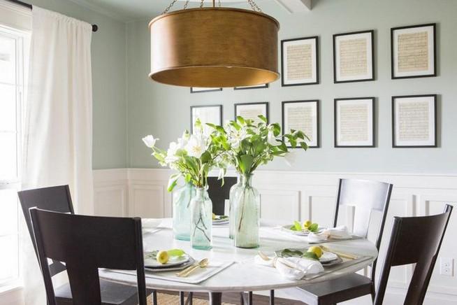 22 Easy Green Dining Room Design Ideas 29