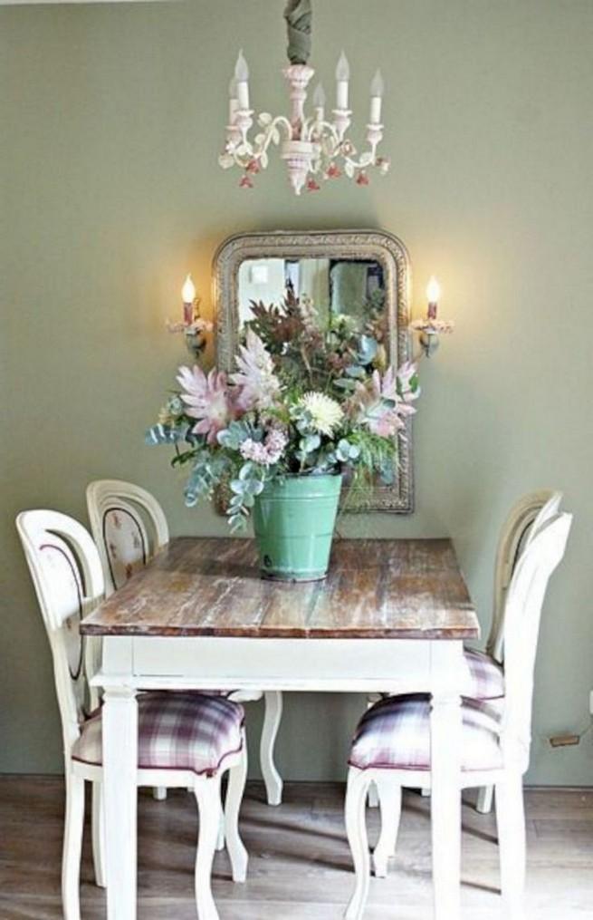 22 Easy Green Dining Room Design Ideas - lmolnar