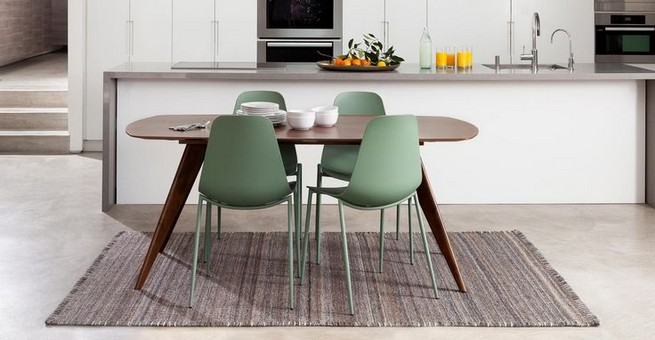 22 Easy Green Dining Room Design Ideas 40