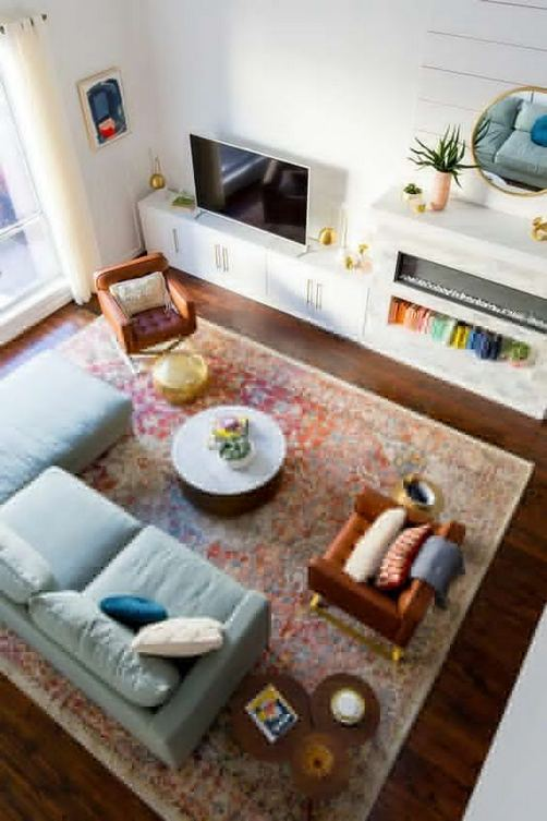 22 Gorgeous Traditional Indian Carpet Designs For Living Room 20