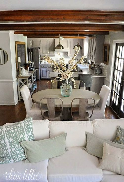 22 Stylish Modern Farmhouse Dining Room Remodel Ideas 19