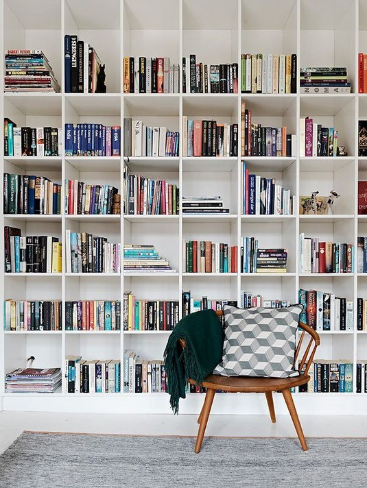 23 Awesome Industrial Wall Bookshelves Designs Ideas 43