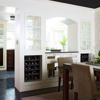 23 Cool Dining Room Wall Cabinet Design Ideas 08