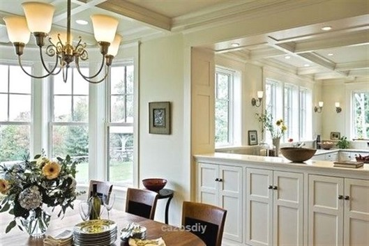 23 Cool Dining Room Wall Cabinet Design Ideas 11
