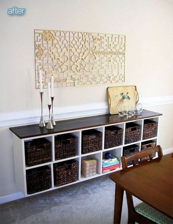 23 Cool Dining Room Wall Cabinet Design Ideas 15