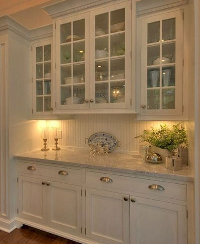 23 Cool Dining Room Wall Cabinet Design Ideas 41