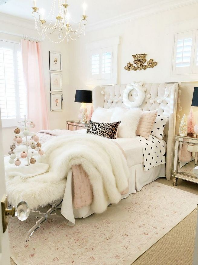 23 Cozy Cute Pink Bedroom Design Decor Ideas For Kids 19