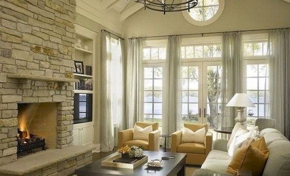 23 Wonderful French Country Living Room Decoration Ideas 09