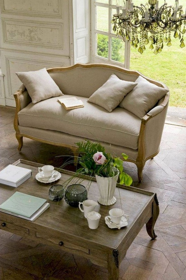 23 Wonderful French Country Living Room Decoration Ideas 36