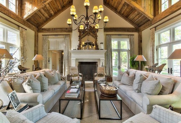 23 Wonderful French Country Living Room Decoration Ideas 47