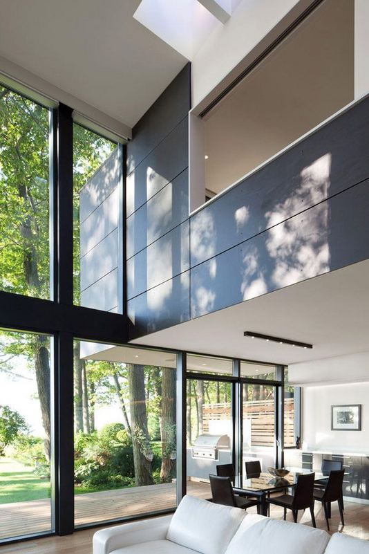 24 Impressive Glass Ceiling Indoor Design Inspiration Ideas 09