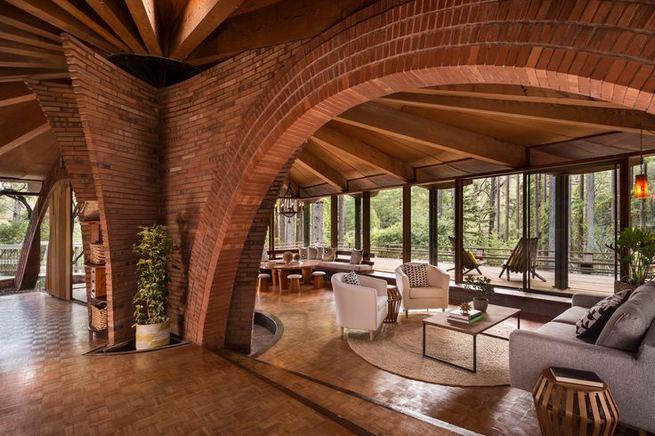 24 Impressive Glass Ceiling Indoor Design Inspiration Ideas 10