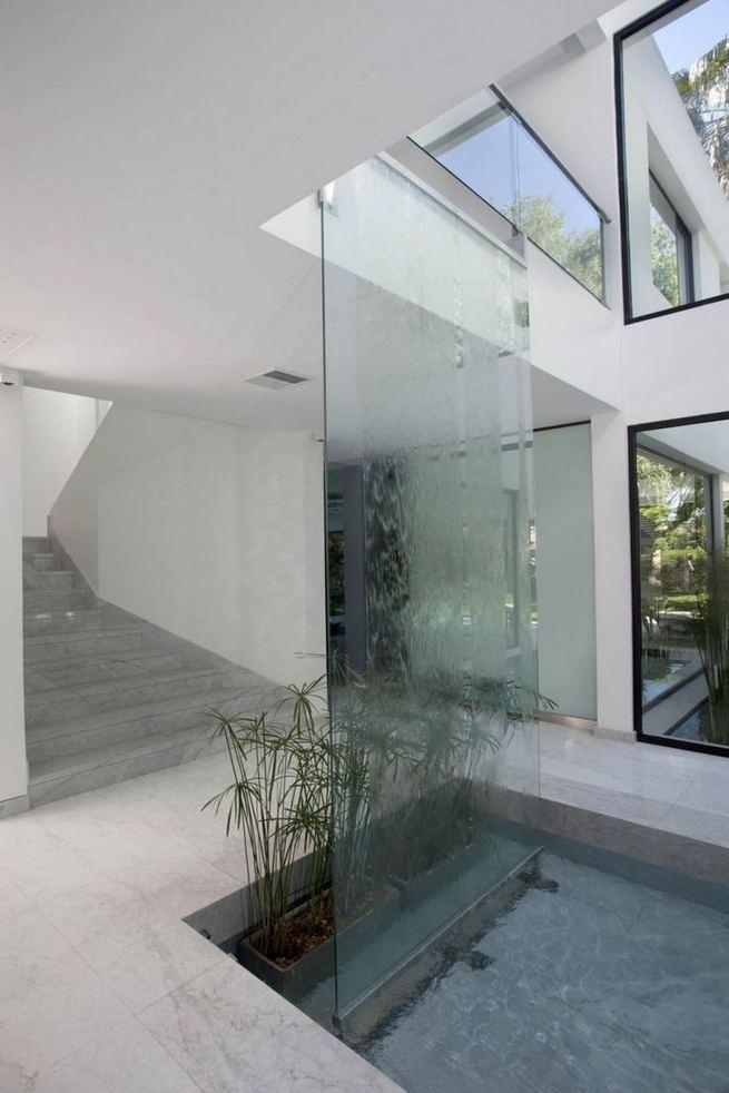 24 Impressive Glass Ceiling Indoor Design Inspiration Ideas 30