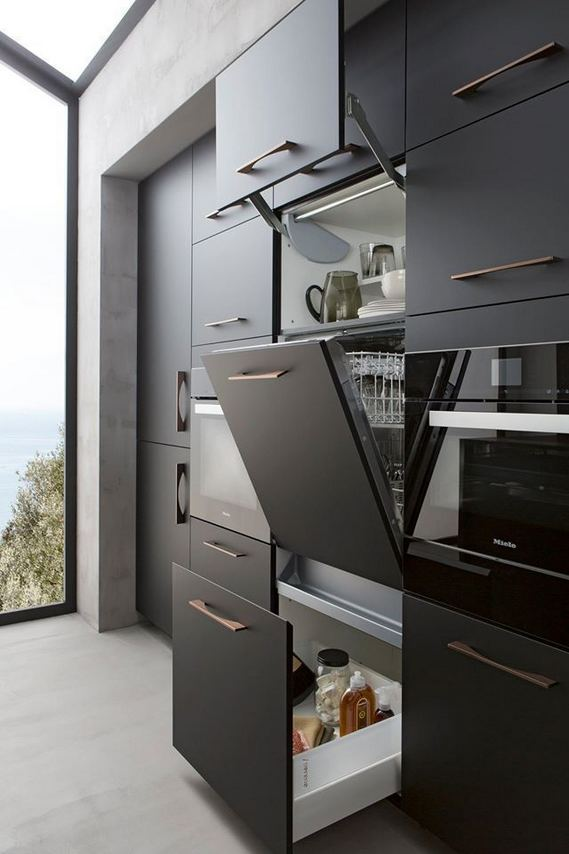 25 Best Ideas For Black Cabinets In Kitchen 14